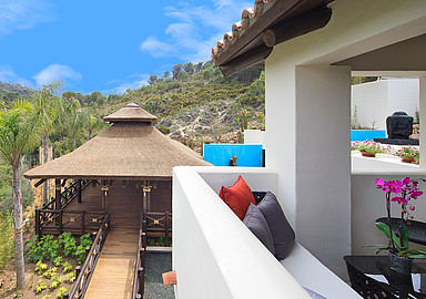 Junior Suite bij Shanti Som Wellbeing Retreat in Spanje