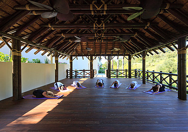 Yoga programma´s bij Shanti Som Wellbeing Retreat Spanje aangeboden door Spa In Spain