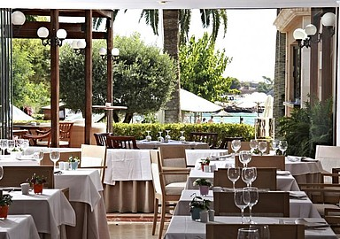 Restaurant in wellnesshotel Son Caliu & Spa Oasis, Spanje